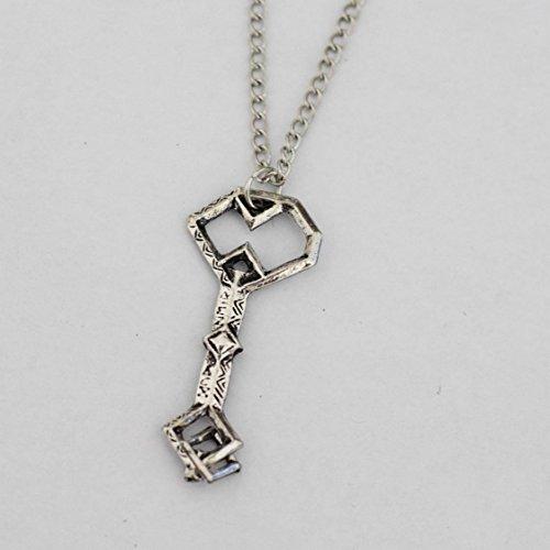 Hobbit Halskette Schlüssel–Thorin Eichenschilds Zwerg Lonely Mountain Treasure Schlüssel Anhänger Custom Made Ketten oder Halskette