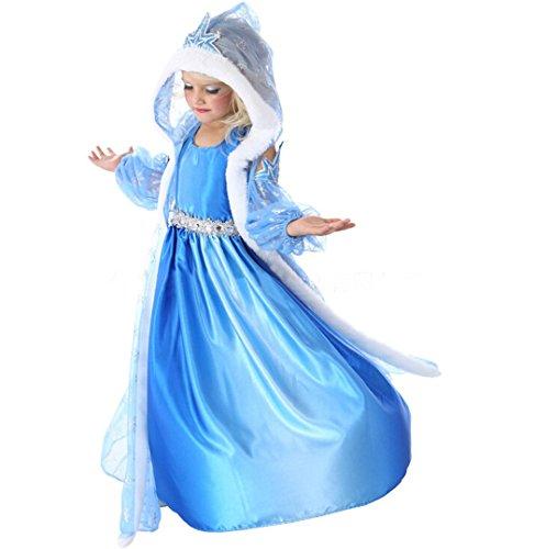 Prinzessin Rollenspiele Kostüm Karneval kleid Verkleidung Cosplay Party Kapuze Ponchos (Lila Glitzer Kapuzen Cape)