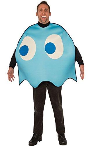 Rubie 's Offizielle Pacman Inky, Erwachsenen-Kostüm–Medium (Pac Man Kostüm Für Erwachsene)
