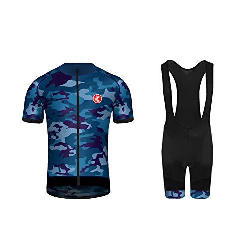 Uglyfrog Quick Dry e Comodo Uomini Manica Corta Traspirante Ciclismo Jersey Abbigliamento Sportivo 3D Imbottiti Bicchierini di Full Zip DXMX02F