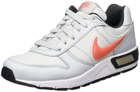 Nike Mädchen 705478-005 Turnschuhe, Grau (Pure Platinum / Lava Glow / Anthracite / White), 36 EU