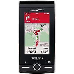 Sigma Sport ROX 12.0 Sport Ciclocomputador con navegación GPS, Adultos Unisex, Blanco,
