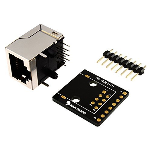 RJ458Pin Connector (8P8C) und Breakout Board Kit für Ethernet DMX-512RS-485RS-422RS-232(unassambled)