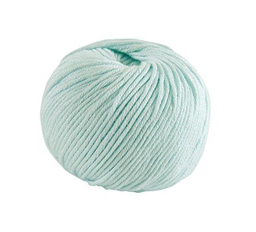 Filo DMC natura, 100% cotone, colore blu 137, medium