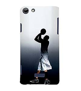 Fuson Designer Back Case Cover for Micromax Canvas Selfie 3 Q348 (Basket Ball Player Champion Athlete Topper)