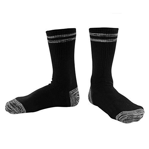 WADUANRUN Herren Stutzenstrumpf/Socken Herrensocken aus Baumwolle Socken Socken Grau M (Hoch Socken Puma Knie)