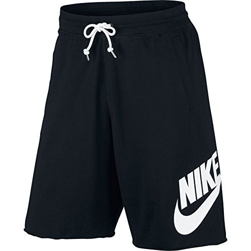 Nike Herren Sportswear Logo Shorts, Schwarz (Black/White), XL