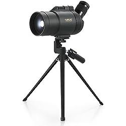 Lixada Visionking 25-75x70 Impermeable a Prueba de Humedad Angular Manchado Alcance Bak4 Prism Monocular Telescopio