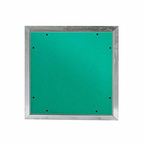 MW multi werkzeug Revisionsklappe 400 x 400 mm mit 12,5mm GK-Einlage imprägniert für Feuchtraum geeignet Aluminium-Rahmen 40 x 40 cm