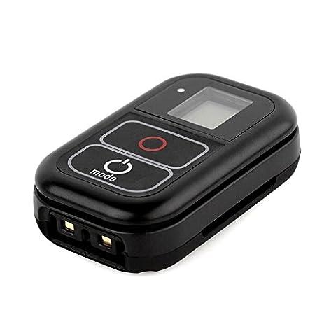 SHOOT WiFi Drahtlose Fernbedienung für GoPro HERO 5/4/3+/3/HERO+LCD/4 Session mit einem Ladekabel und Hand Tragegurt