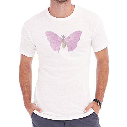 Pokemon Venonant Bug Poison Front Cute Herren T-Shirt Weiß