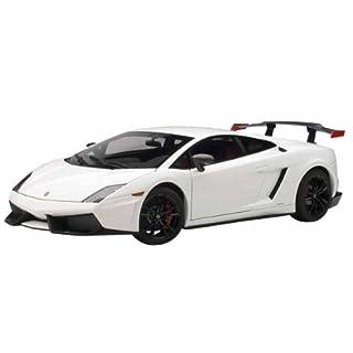 Lamborghini Gallardo LP570 Supertrofeo Stradale, weiss/schwarz , 2011, Modellauto, Fertigmodell, AUTOart 1:18