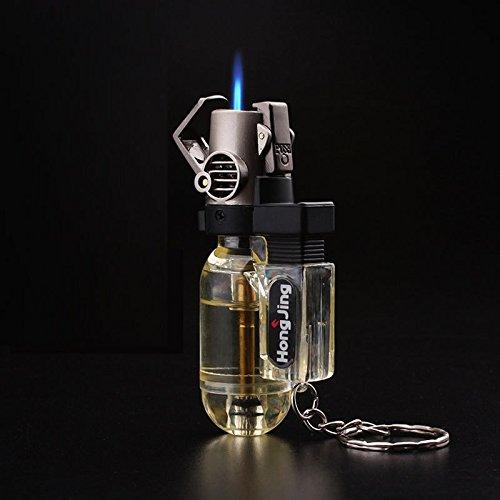 galaksy Men's Mini Jet Refillable Butane Gas Windproof Spray Torch Cigarette Lighter...