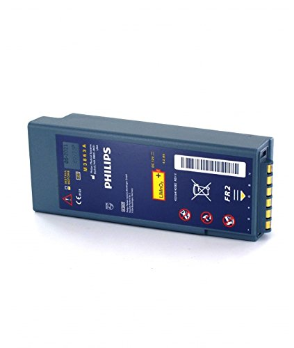 PHILIPS - Batterie 12V für Defibrillator Heartstart FR2 FR2 + M3863A - M3863A