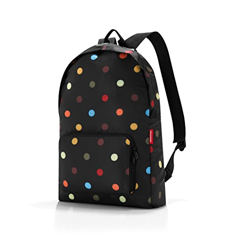 Reisenthel Mini maxi Trekking-Rucksack, Dots, 30x45x11 cm (Moderne Dot Regal)