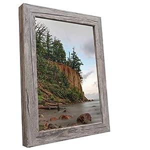 Bilderrahmen Fotorahmen 40x60 cm Olive bilderrahmen zum aufhängen MDF Picture Frames Farbe und 40 Verschiedene Größen wählbar ohne Passepartout Rahmen Malmö