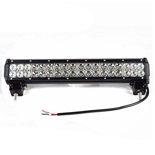 LED Lichtleiste 108w CREE Chip LED Bar Combo Beam Arbeitslicht für Offroad Tuck Trailer Auto Motorboot 4x4 Off Road Boot Fahrscheinwerfer Dauerlicht 12V (X-beam Combo)