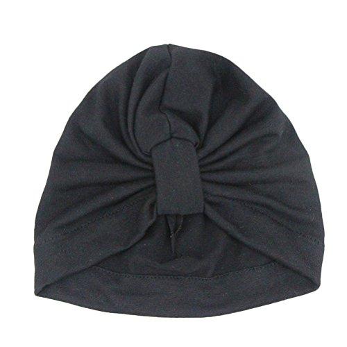 Zhhlinyuan Unisex Baby Bandana Hats Lovely Kids Girls Cotton Soft Beanie Cap