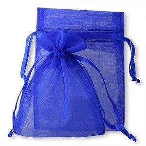 100Royal Blau Organza Wedding Favour Taschen Schmuck Beutel 9cm x 12cm ohne Geschenke