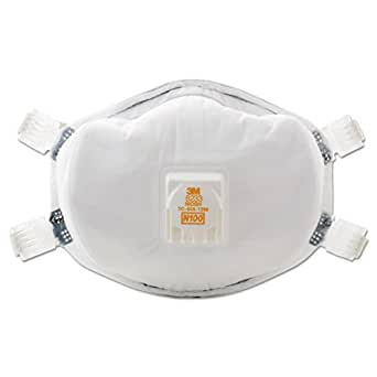3M 51138541434 8233, N100 Particulate Respirator