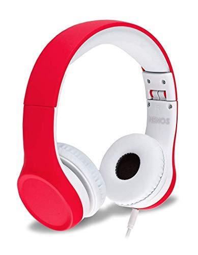 Kopfhörer für Kinder Mit Begrenzter Lautstärke und Abnehmbarem Kabel für Jungen und Mädchen ...