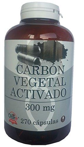 Carbon vegetal activado activo 300 mg...