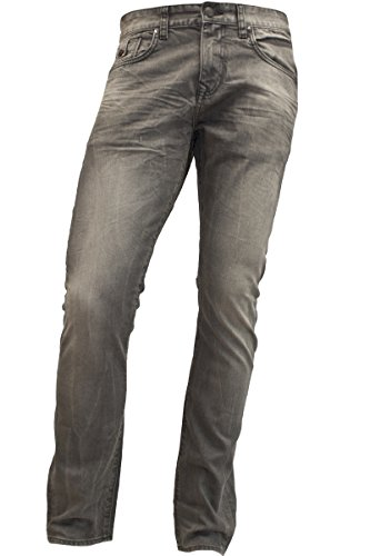 LTB Herren Straight Fit Jeans, Uomo, Joshua, grey denim, 33 / 32