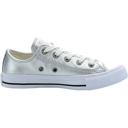 Converse All Star Ox Damen Sneaker Metallisch METALLIC|GREY