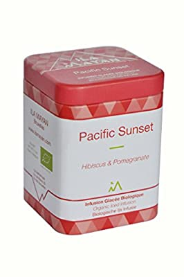 "Infusion glacée bio ""PACIFIC SUNSET"" - Grenade & Hibiscus"