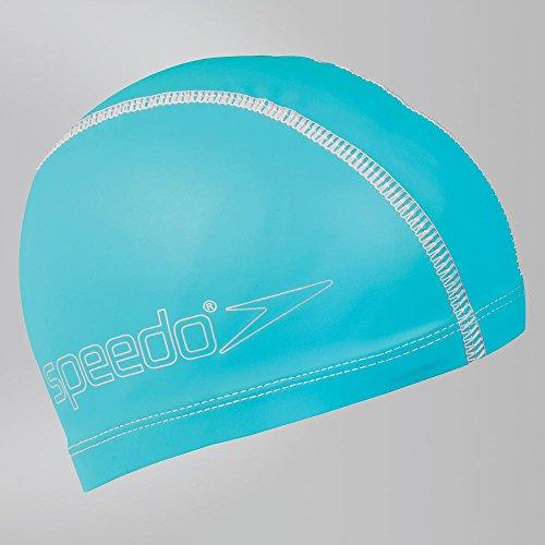 Speedo Junior Pace Cap Badekappe, bebé-niños Einheitsgröße blau Bebe Cap