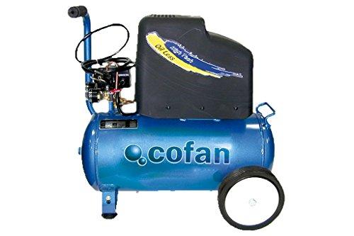 Cofan 09001003 Compresor eléctrico 0.011 V, 25 l