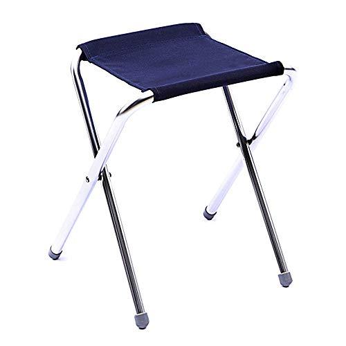 Lcxligang Klappstuhl tragbar, Mini Step Slacker Hocker Camping Klappstühle im Freien, zusammenklappbar Camp Hocker