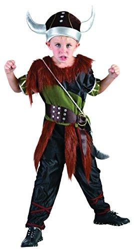 Bristol Novelty CC786 Traje Niño Vikingo, Mediano, Edad aprox 5 - 7 años