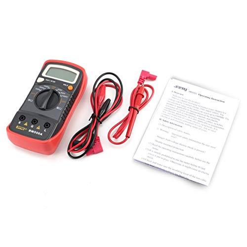 Delicacydex-BM500A-Misuratore-di-resistenza-di-isolamento-auto-gamma-digitale-1000V-tester-Megaohmmetro-voltmetro-Megger-LED-ad-alta-tensione-indicazione
