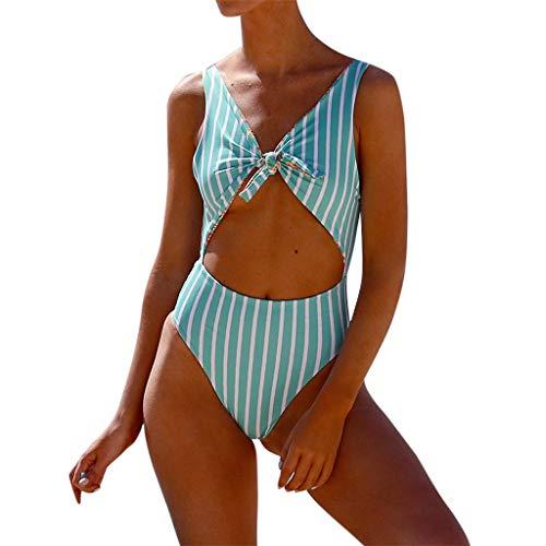 c51ca51f0c5 Trajes De Baño Mujer 2018 Una Pieza Bikini Mujer Push Up con Relleno Bikini  Sexy De Una Pieza Bikini De Cintura Alta Estampado Traje De Baño Push-Up ...