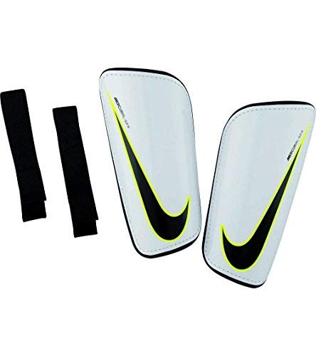 Nike Mercurial Hardshell Shin Pads, Black/White, Size Small