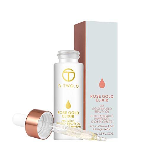 Gold Lip Primer Feuchtigkeitsspendende Gesichtsöl Elixier Haut Make-Up Öl Schönheitsöl Wesentlich Vor Grundierung Grundierung Für Frauen Hautpflege ()