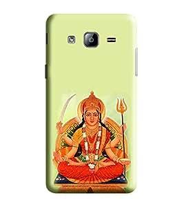 Hi-Me Designer Phone Back Case Cover Samsung Galaxy On5 (2015) :: Samsung Galaxy On 5 G500Fy (2015) ( Divine Lucky Goddess Durga Matha )