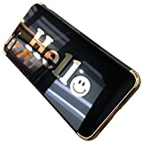 EUWLY Compatible avec Coque iPhone 6 Plus Coque iPhone 6S Plus Miroir Paillette Homme...