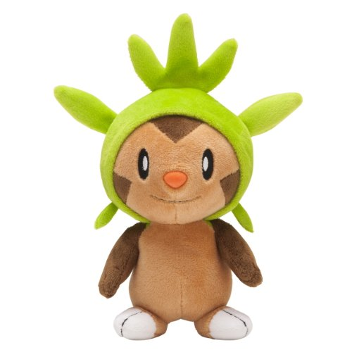 Pokemon Center Japan Chespin/Harimaron Gefülltes Plüsch Puppen, 15,2 cm (Pick In Plüsch)