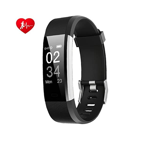 Smart Watches Fitness Tracker RobotsDeal Activity Tracker Heart Rate Monitor With 14 Exercise Modes Sleep Monitor With GPS Route Tracking Pedometer Step Counter With 4 Watch Faces For Android Or IOS S
