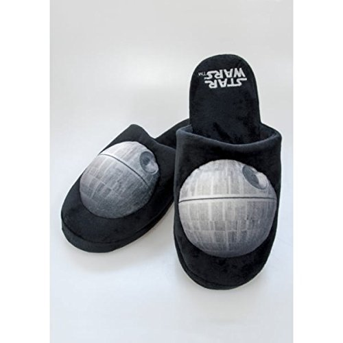 Star Wars Death Star Mule Slippers Size 8-10