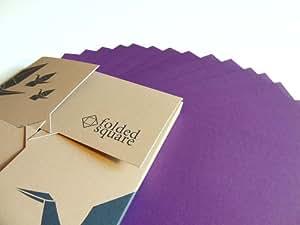 origami paper 100 sheet gift set pantone violet 2607