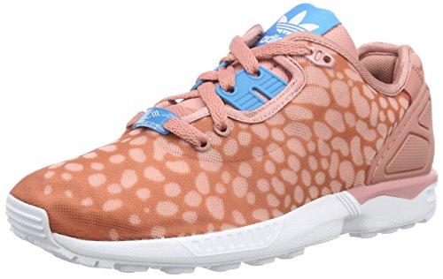 adidas Originals ZX Flux Decon B34030, Damen High-Top Sneaker, Pink (Ash Pink S15-St/Bold Aqua/Ftwr White), EU 39 1/3