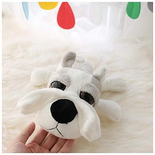 Winpavo Zierkissen Form Kissen Kopfkissen Große Augen Tiere Spielzeug Grüne Krake Simulation Katze Hund Nilpferd Beschwichtigen Schlafzimmer Dekor @ C (Steak Hund Spielzeug)