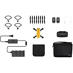 Dji Spark Drone Fly More Combo - Sunrise Yellow (Uk)