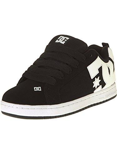 Dc Universe Court Graffik, Sneakers Para Hombre Negro