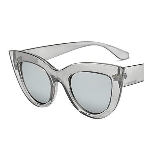 Idyandyans Frauen-Katze-Ohr UV-Beweis Sonnenbrille PC Rahmen UV400 Sport Outdoor Brillen Weibliche Driving Sonnenbrillen