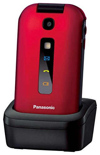 Panasonic Mobile Phone KX-TU 329 EXRE/Red/2,4