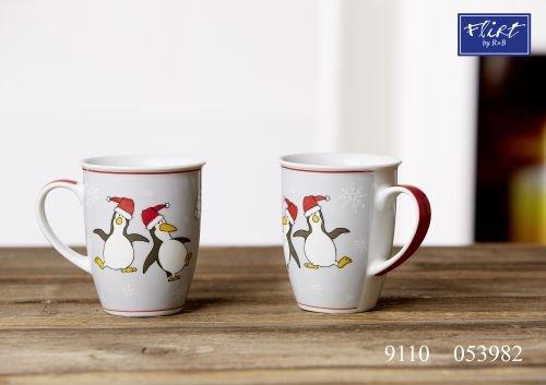 Flirt By R&B Kaffeebecher 320 ml Dancing Pinguin